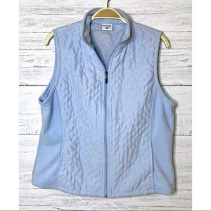 Columbia Quilted Zippered Vest